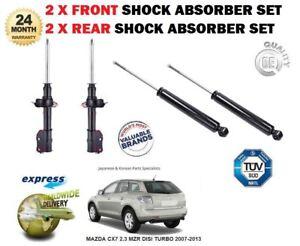 Per-Mazda-CX7-2-3-MZR-DISI-Turbo-2007-2013-2X-ANTERIORI-2X-Set-Ammortizzatore-Posteriore
