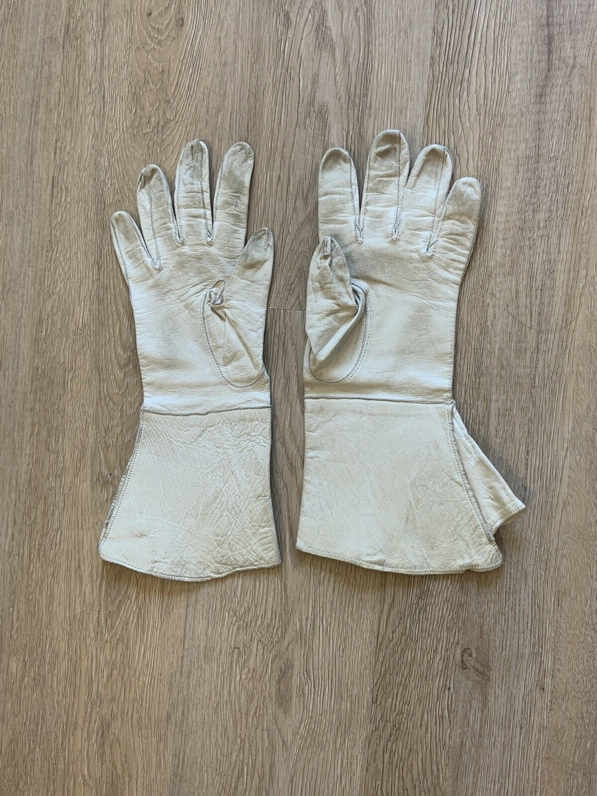 Vintage Early 20th Century French GAUNTLET GLOVES… - image 1