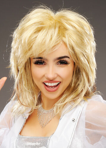 Womens Dolly Parton Style Blonde Mix Wig