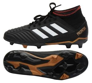 76e9709c5ee ADIDAS PREDATOR 18.3 FG JUNIOR SOCCER CLEATS BOYS SIZE 5 CP9010 ...