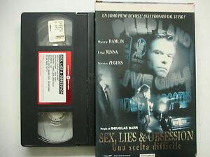 Sex Lies & Obsession 2001 VHS Italian