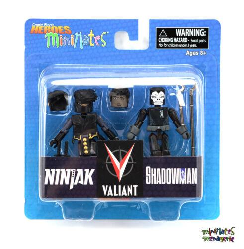 Comic Book Heroes Minimates Series 1 Valiant Ninjak /& Shadowman