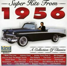 The Platters - Super Hits 1956 [New CD]