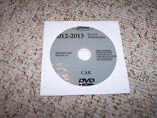 2013 Ford Taurus Shop Service Repair Manual DVD SE SEL Limited SHO AWD 3.5L