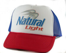 931e7b3c886 item 7 Vintage Natural Light beer Trucker Hat mesh hat snap back hat red white  blue -Vintage Natural Light beer Trucker Hat mesh hat snap back hat red  white ...