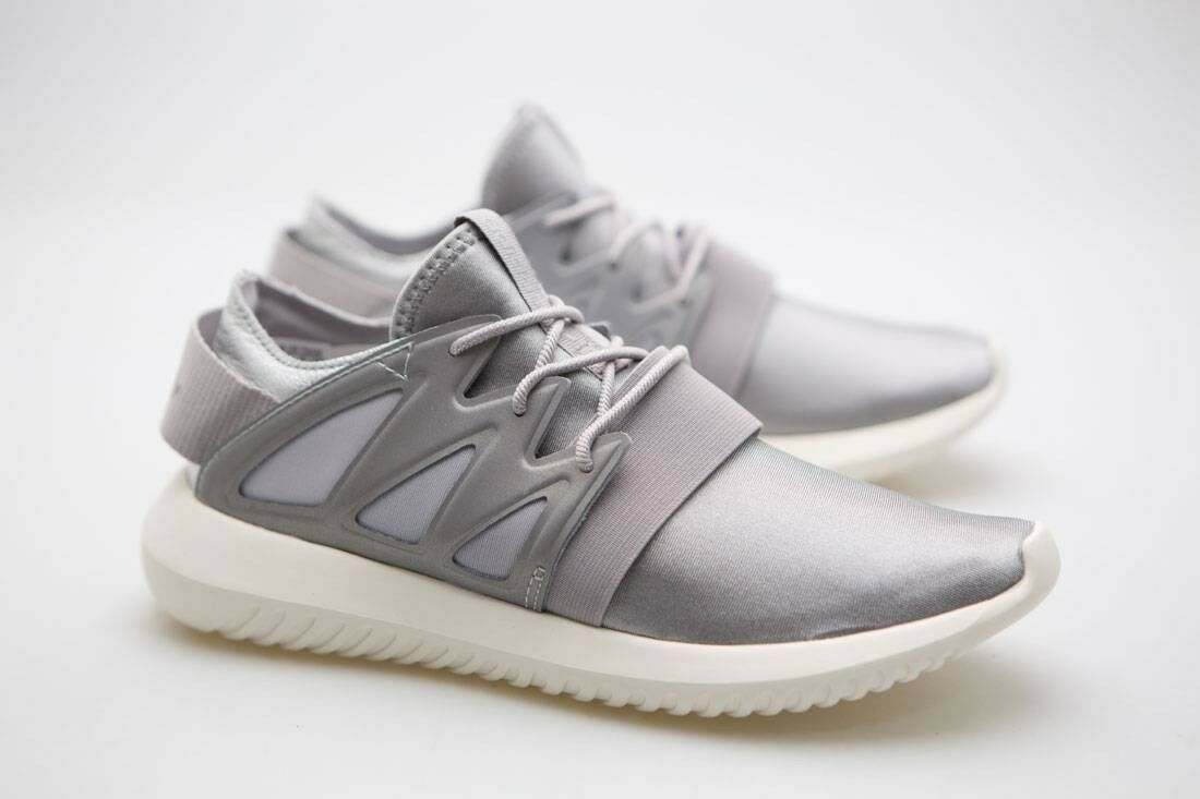 Adidas Women Tubular Viral silver metallic silver clear granite core white S7590
