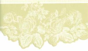 White-Line-Drawing-Rose-Toile-on-Light-Green-Die-Cut-Edge-Wallpaper-Border-Decor