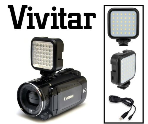 Foto//video Conjunto de luz LED con Kit de potencia para Kodak Pixpro S-1 S1