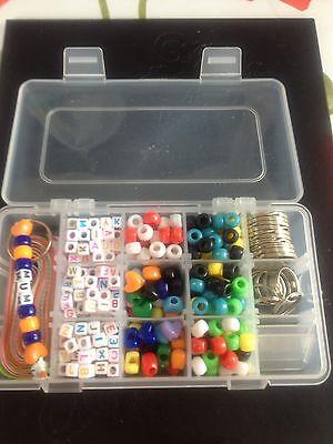 Bnib .  Make your keyrings , with beads . STARTER KIT +
