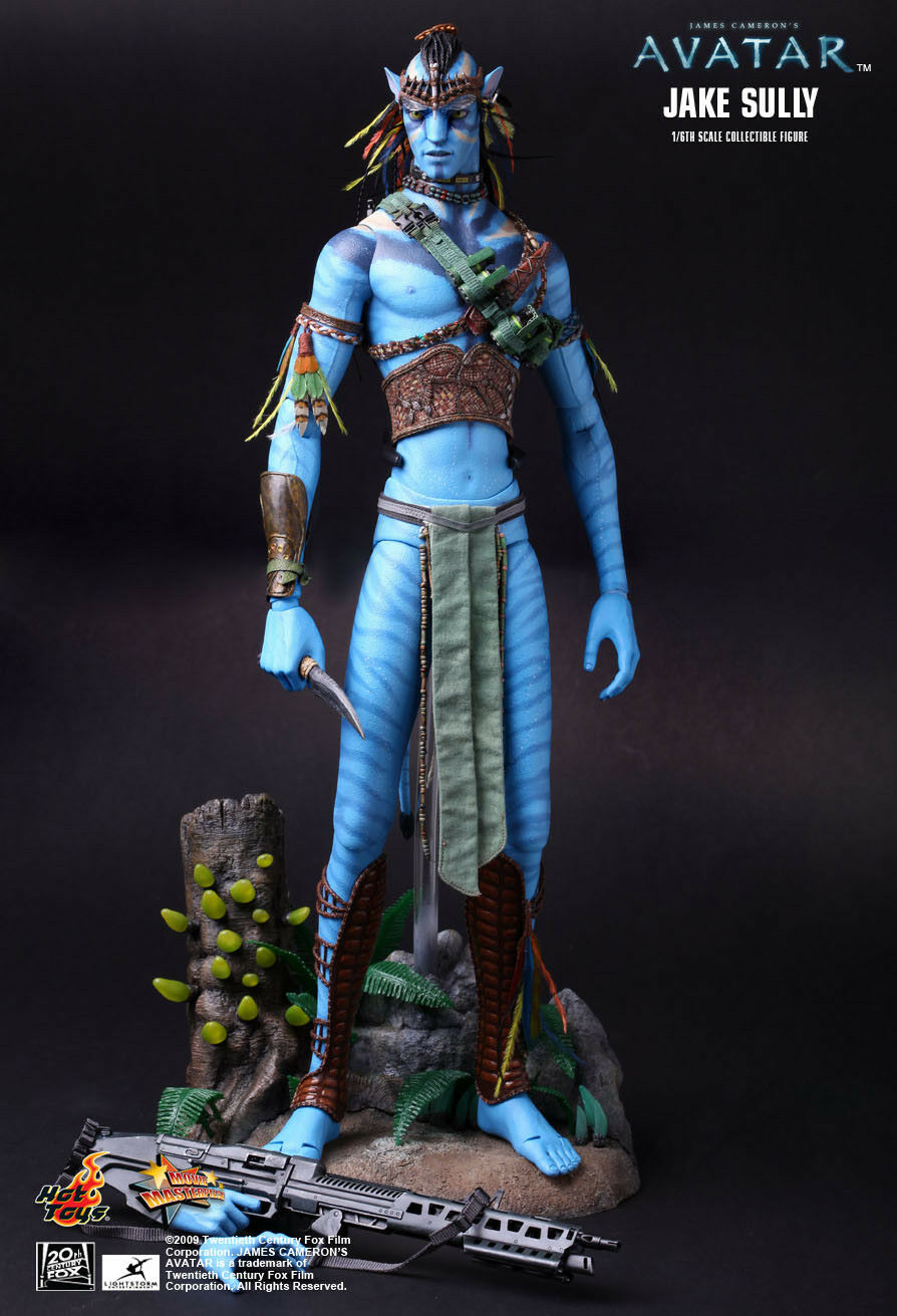 (SA) HOT TOYS 1/6 JAMES CAMERON'S AVATAR MMS159 JAKE JAKE JAKE SULLY ACTION FIGURE 712534