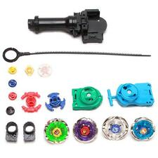 Beyblade Fusion Top Metal Master Rapidity Fight Rare 4D Launcher Grip Set