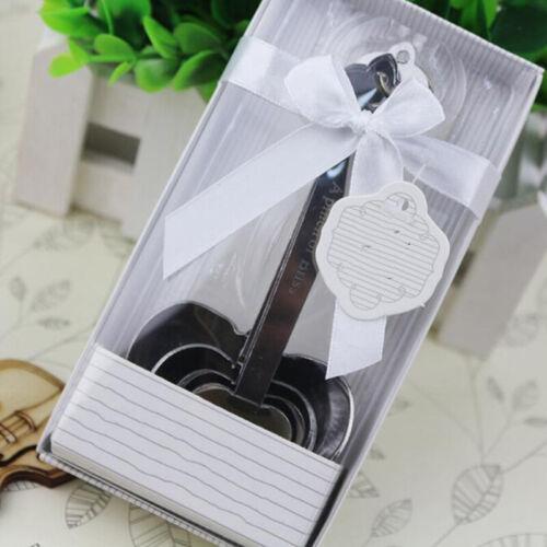 4pcs//set Kitchen Silver Color Zinc Alloy Heart Shape Measuring Measure Spoons LH