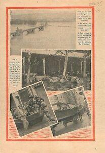 """Inondation Sud-Est le Midi Vallée du Rhône Plaine de la Crau 1935 ILLUSTRATION - France - Commentaires du vendeur : """"OCCASION"""" - France"""
