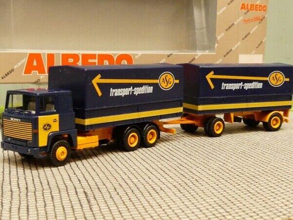 1 87 Herpa albédo Scania 111 ASG Transport Transporteur planifier Hz