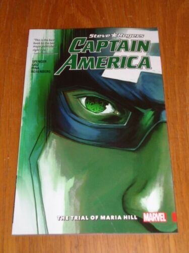 1 of 1 - Captain America Steve Rogers Trial of Maria Hill V2 (Paperback)< 9781302901134