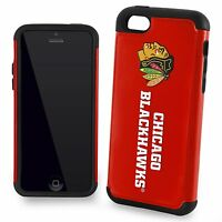 Chicago Blackhawks Apple Iphone 5c 5s 5 And Se Dual Hybrid 2 Piece Case