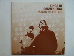 KINGS-OF-CONVENIENCE-MAGIC-IN-THE-AIR-EP-3-TITRES-CD-Single
