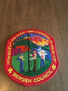 Boy-Scout-Patch-Bergen-Council-Tamarack-District-1991-Camporee