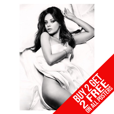 BUY 2 GET ANY 2 FREE MILA KUNIS TOPLESS NUDE POSTER ART PRINT A3 A4 SIZE