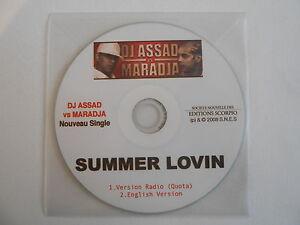 DJ-ASSAD-vs-MARADJA-SUMMER-LOVIN-2-VERSIONS-CD-SINGLE-PORT-GRATUIT