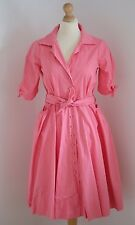 Diabless / Diab'less 1950's shirt/rockabilly dress FR1 UK 10 worn once RRP £150