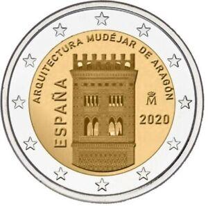 Spanje-2020-Aragon-2-euro-CC-UNC