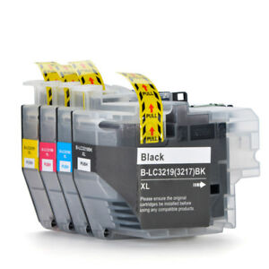 4x-LC3217-LC3219-Ink-Cartridges-Compatible-For-Brother-MFC-J5330DW-MFC-J5335DW