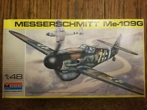 ME-109G,1/48 SCALE, BY MONOGRAM