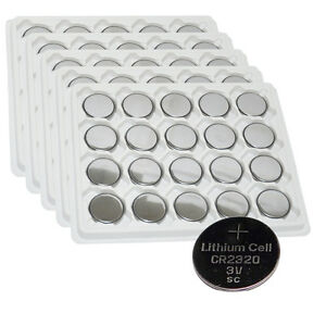 100-PKCELL-CR2320-BR2320-CR-2320-3V-Lithium-Coin-Cell-Batteries-Wholesale-Lot