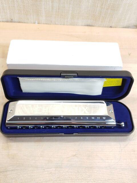 Genuine Suzuki SCX-64 Chromatic Harmonica 16 Holes 64 Sounds Standard JAPAN NEW