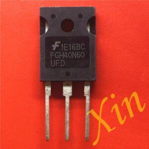 5pcs-fgh40n60ufd-600v-40a-Field-Stop-IGBT-to-247-NEU