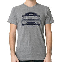 Bmw E46 M3 Csl Graphic Printed On Men's T-shirt