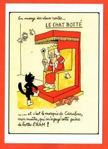Jean EramchaussuresLe sur illustration Détails Botté Postale Effel Chat Carte WCorxBeQd