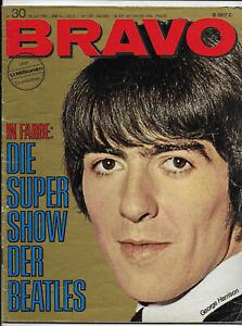 Bravo NO 30 of 18.7.1966 the Mama's & The Papa's, Claudia Cardinale, Beatles...