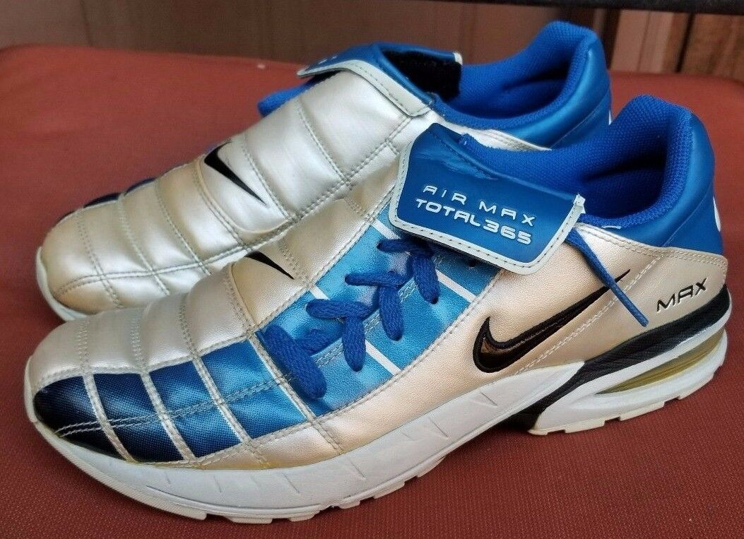 NIKE MAX AIR TOTAL 365 T90 VAPOR SOCCER schoenen INDOOR TRAINERS US 8.5 UK 7.5 RARE