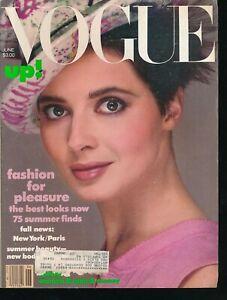 VOGUE-June-1984-Fashion-Magazine-ISABELLA-ROSELLINI-Cover-by-RICHARD-AVEDON