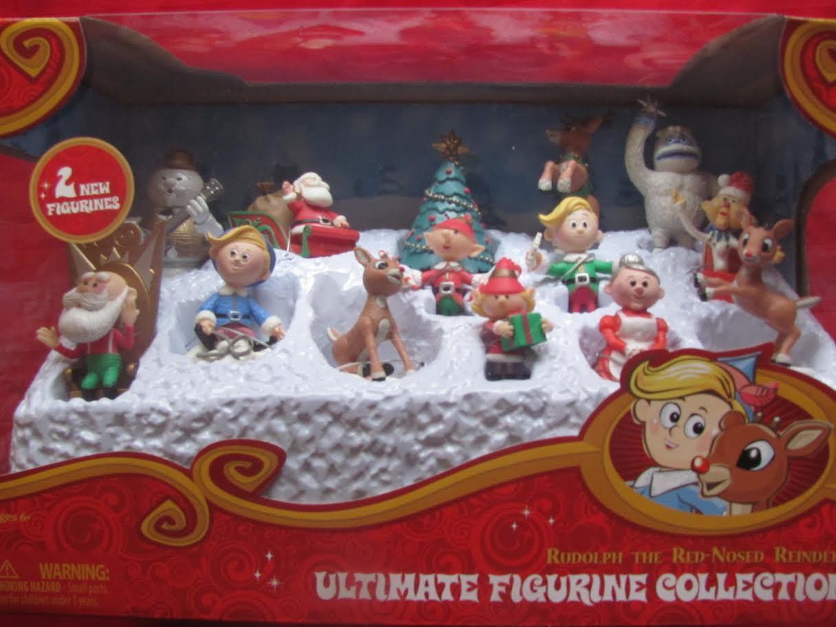 ULTIMATE FIGURINE misfit COLLECTION 2012 figure set rudolph misfit FIGURINE toys NEW 648344