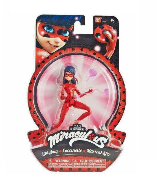 """BANDAI ZAG Miraculous Ladybug, Heroez, Action FIgure, 15 cm / 6.0"""""""