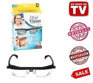 cda15228574 Image is loading DialVision-World-s-First-Eyeglasses-for-DISTANCE-Without-