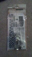 Tim Holtz Stampers Anonymous Halloween Stamp / Stencil Set - Undertaker -#600