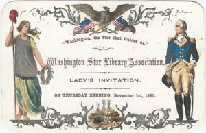 1860-Washington-Star-Library-Association-Chromolithographed-Lady-s-Invitation