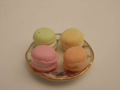 Casa De Muñecas alimentos placa Surtido Pastel guirlaches-por Fran