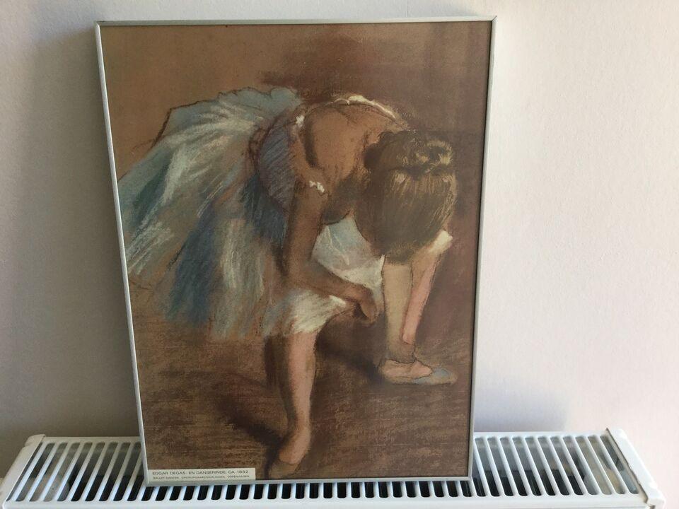 Billede af balletdanser