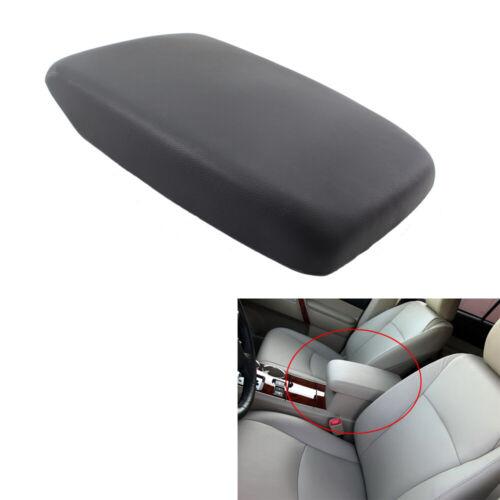 Black Center Console Armrest Lid with Base Hardware for Toyota Highlander 08-13