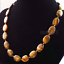 "13x18mm Natural Yellow tiger/'s Eye Gemstone Ovale Perles Collier 18/""AAA"
