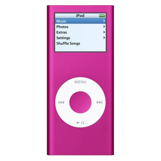 Apple iPod Nano 2nd Generation Pink (4GB)