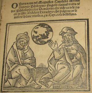 1520-Antonio-Fregoso-Opera-nova-Democrito-e-Heraclyto-FILOSOFIA