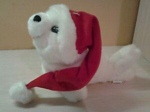 Vintage-Rare-1993-House-Of-Lloyds-Santas-Little-Seal-Plush-9-stuffed-animal