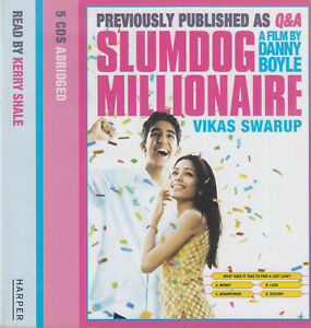 Vikas-Swarup-Slumdog-Millionaire-5CD-Audio-Book-Q-amp-A-Abridged-FASTPOST
