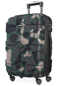 X-Koelln-Handgepaeck-Hartschalenkoffer-Trolley-Rollkoffer-Koffer-TSA-Camouflage